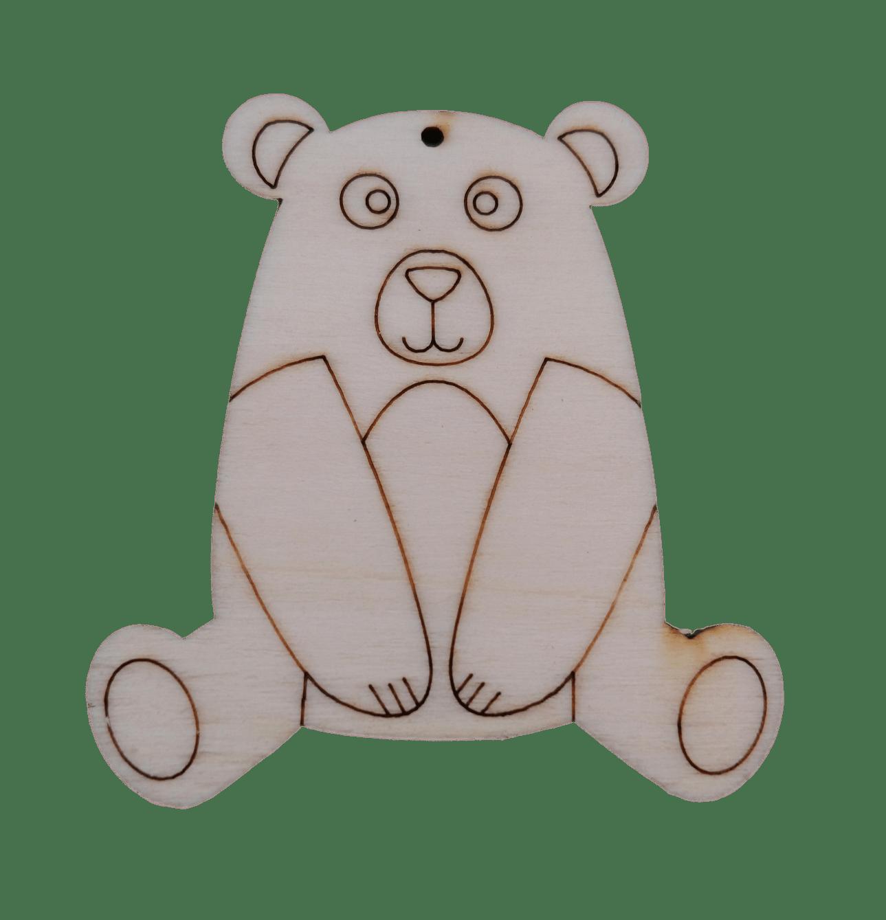 Prikupna figura medveda