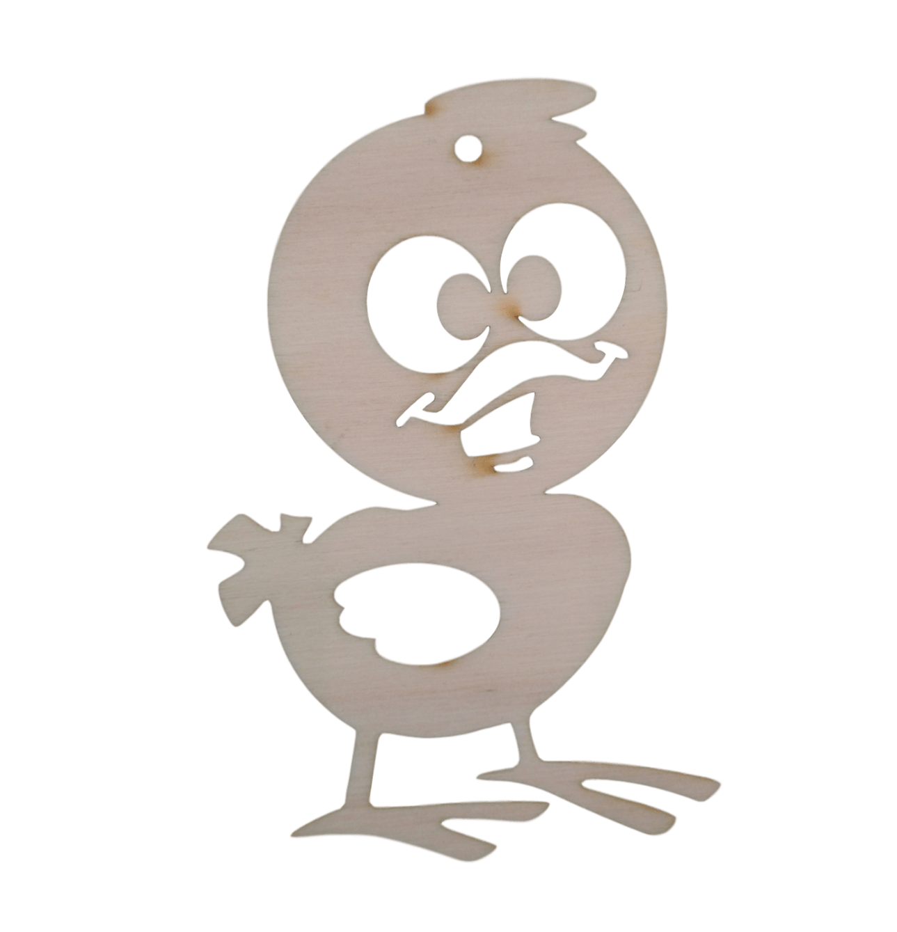 Prikupen lik piščanca