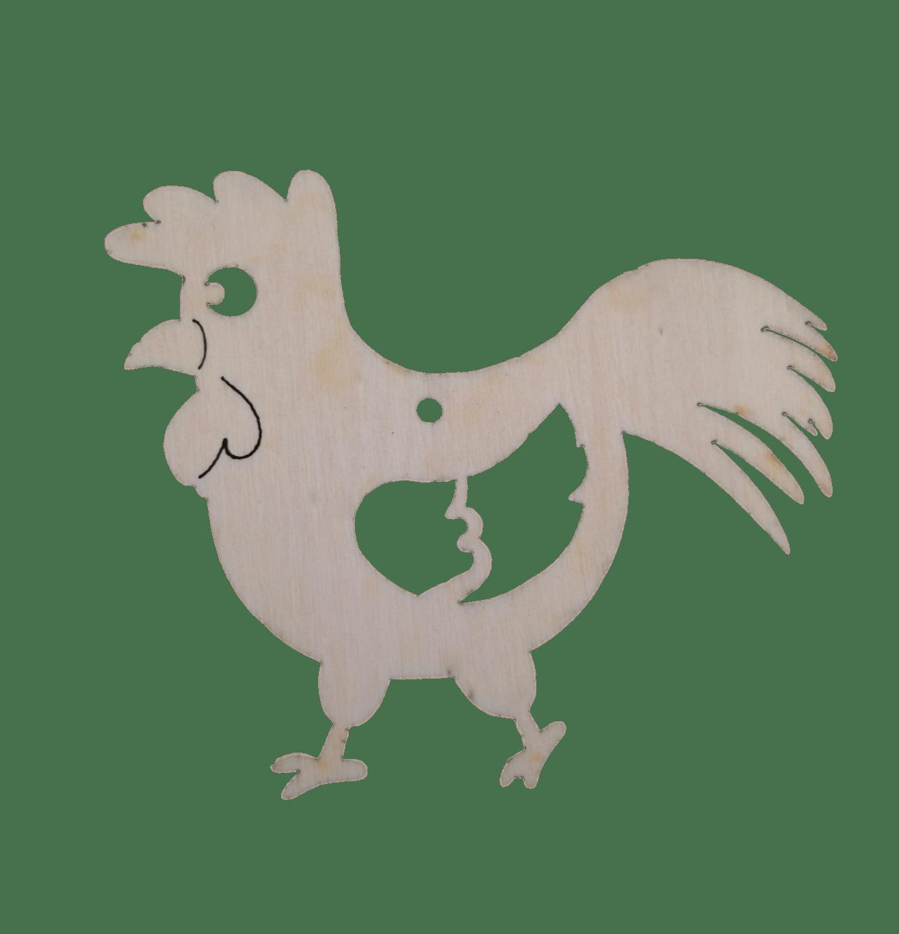 Prikupen lik kokoši