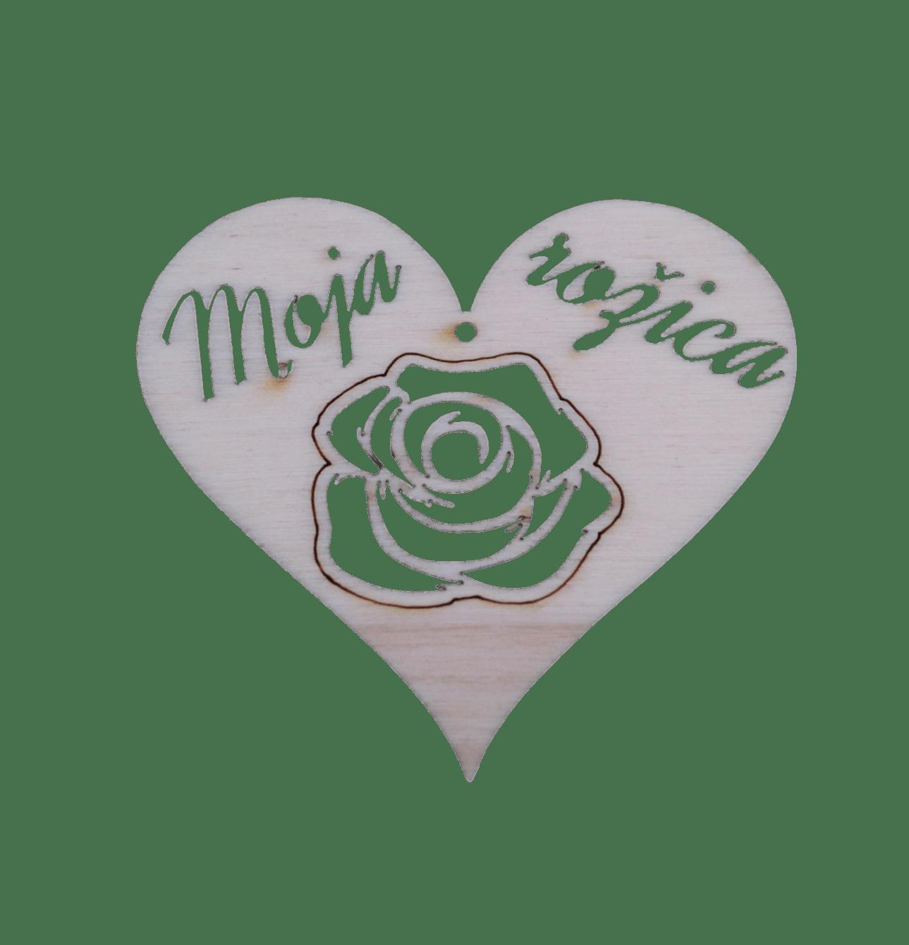 Figura srce moja rožica